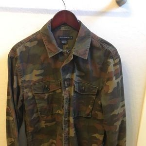 French Connection camouflage shirt/jacket